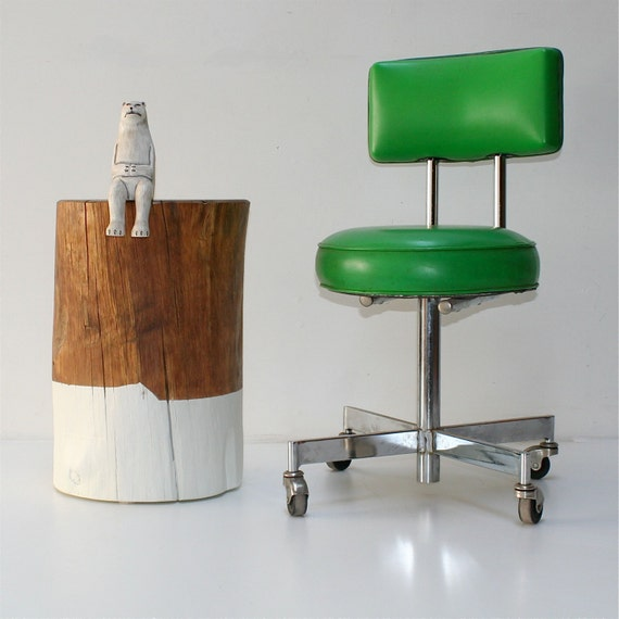 Reclaimed Wood Stump Coffee Table: Reclaimed Wood Tree Stump Coffee End Side Table Stool Dipped