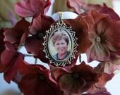 Wedding Bouquet Charm, Memorial Bridal Charm, Custom Photo Wedding Charm
