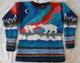 Knitting Pattern: Aurora Size Eleven Years