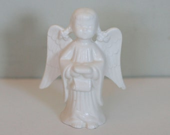 vintage ceramic angel by holland mold