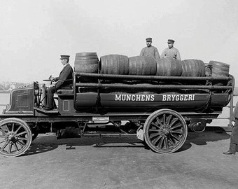 Beer truck 1903 image