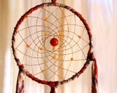 Dream Catcher- Carnelian Spiral