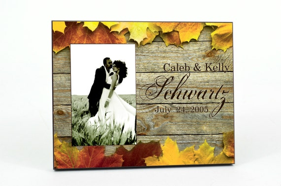 Personalized Picture Frame for 4x6 Photo Custom Photo Frame UPWL-01