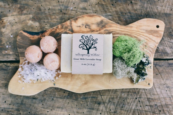 Goat Milk Lavender Oatmeal Handcrafted Soap
