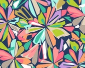 Blend Fabric's, Geofabulous by Maude Ashbury, Stained Glass (Navy) 1 yard
