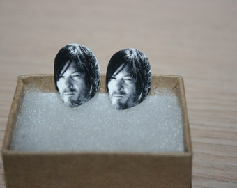 Daryl Dixon Post Stud Earrings Celebrity Jewelry