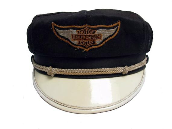 Vintage Harley-davidson Stitched Snapback Baseball Hat Cap ...  |Vintage Harley Davidson Hats