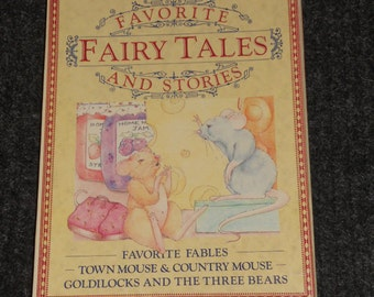 Favorite Fairy Tales And Stories-Bracken Books-3 Book Set-NICE!!!