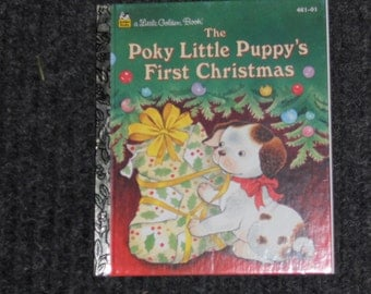 The Pokey Little Puppy's First Christmas-By Justine Korman (1993)
