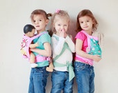 Doll/Stuffed Animal Carrier for Children- Big Sister or Brother Gift