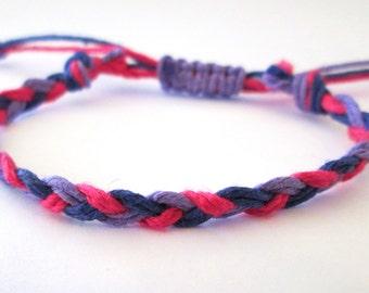 Limited Edition Bi Pride Braided Bracelet