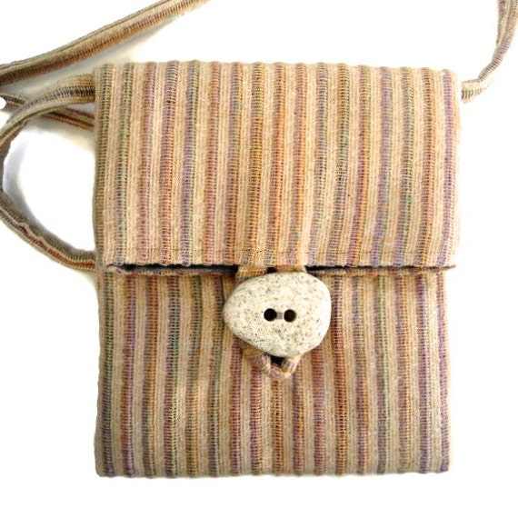 Bag Pouch Sac Small Upholstery Pastel Fabric Purse