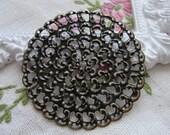 Round Filigree 6 pcs. 48mm diameter