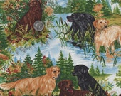 Retrievers in the Hunt Field Golden Retriever Labrador  Retrievers Black Yellow Chocolate I Spy By the Yard OOP