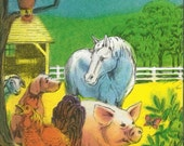 Personalized  childrens Farm Animal book MY FARM ADVENTURE ships in 24 hours