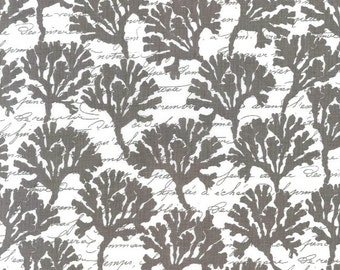 SALE!  -- Coral Design Michael Miller By the Sea Fabric 1 Yard