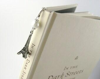 Paris Bookmark - Paris Gift - Eiffel Tower Gift - Eiffel Tower Beaded Book Mark - Beaded Bookmark