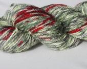 Reserved for bemmanator: Zombie Apocalypse Merino Aran Hand Dyed Yarn