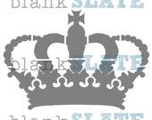 Crown Stencil - 10x8