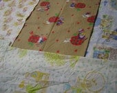 Four Pieces of Vintage Holly Hobbie Fabric