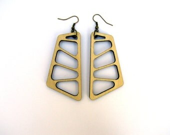 Water structure Earrings