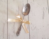 Vintage Silver Spoon W.M.Rogers Silver Serving Spoon Kitchen & Dining Silverware Wedding Decor Rustic Farmhouse
