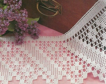 Crocheted Edging - Border No.6