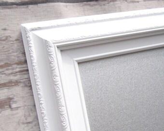 dry erase stainless steel magnetic board for by revivedvintage. Black Bedroom Furniture Sets. Home Design Ideas