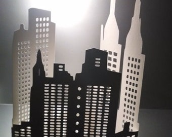 DIY extra large 3D New York city skyline the second