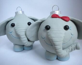 Elephant Christmas Decorations