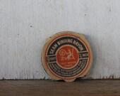 Vintage Seam Binding, Rayon Taffeta, Black