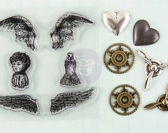 Stamp-n-Add: Angel Wings  892494