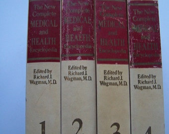 The New Complete Medical and Health Encyclopedia Volumes 1-4