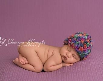 Wild Berries Baby Beanie Hat Newborn Photography Prop