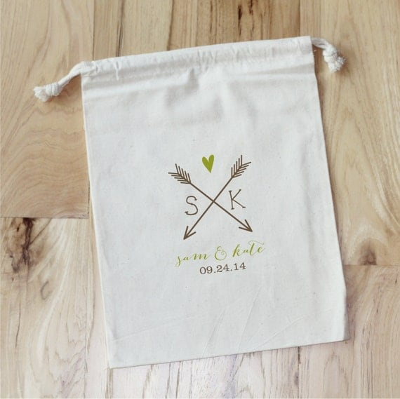 Wedding Favor Bags Personalized : Wedding Favor BagsPersonalized Favor BagsSet of 10Birthday ...
