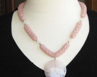 Pink Quartz Rope