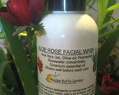 Facial Wash, Cleansing Oil, Aloe Vera Rosewater Soapfree Wash, Makeup remover, Serum, Sensitive Skin