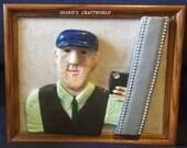Selfie One of kind Polymer Clay Portrait....