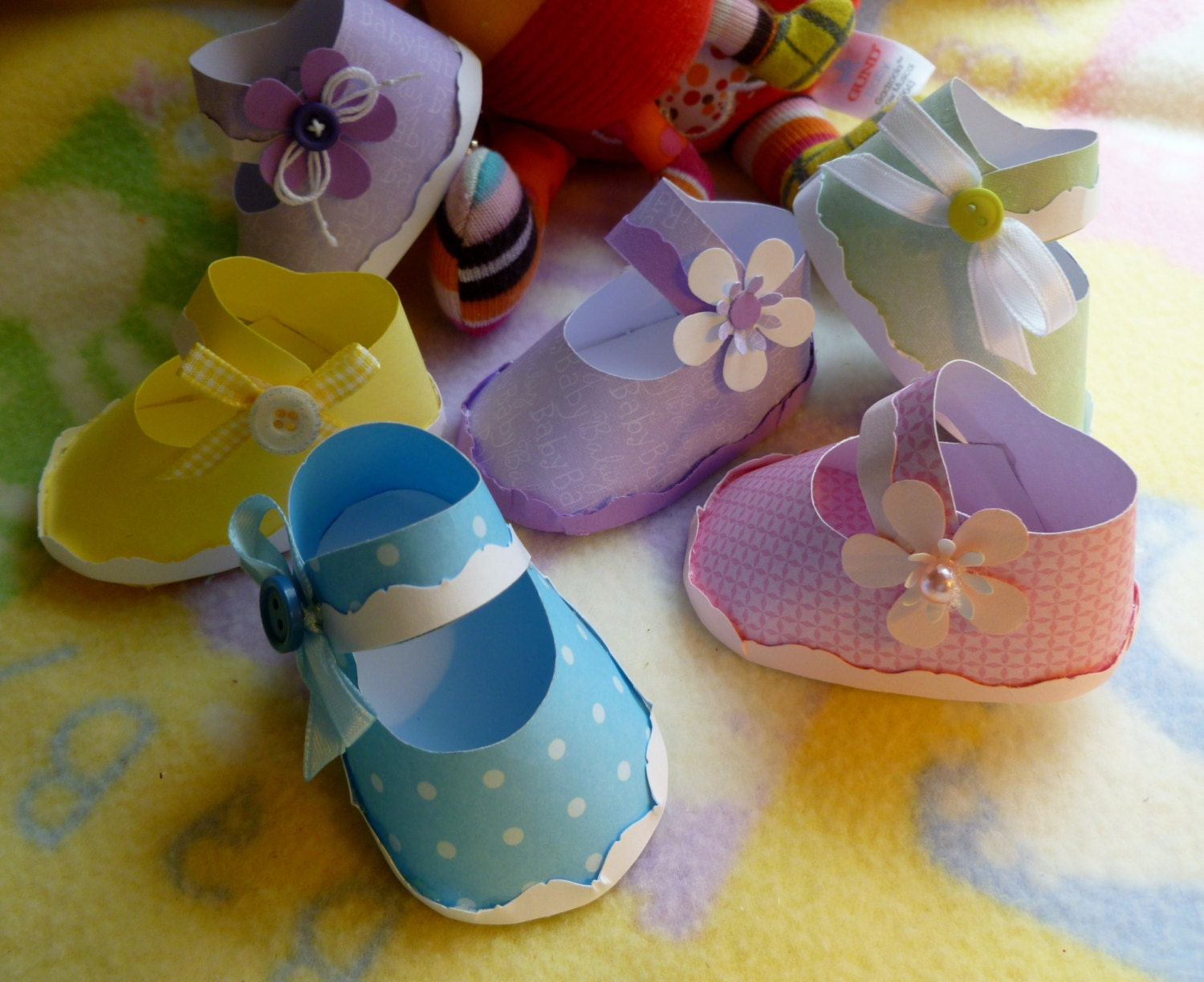 baby shower corsage mom to be corsage handmade paper baby