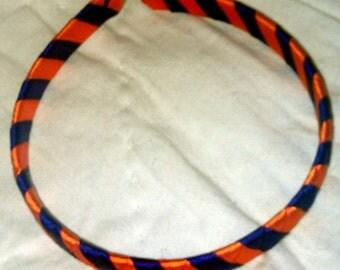 "Orange & Purple ""Clemson"" Headband"