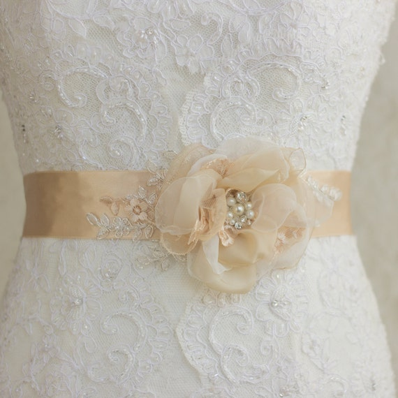 bridal belts wedding dress belts and sashes flower by