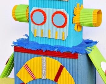 Robot Party Centerpiece, Boy Birthday, Centerpiece, Robots, First Birthday, All Boy Party