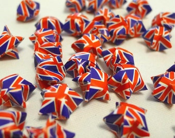 50 Flag Theme  - British Union Jack - Origami Lucky Stars
