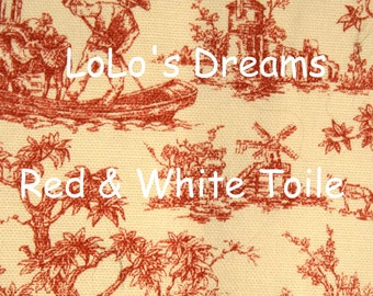 VELCRO Chandelier Chain Cord Cover -  Black/Red/Blue Toile (3ft) (6ft) (9ft) LoLo's Dreams