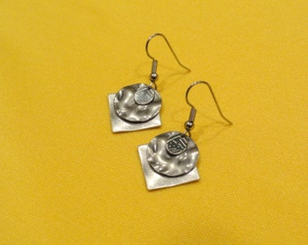 Jeans and silver earrings (Style #227S)