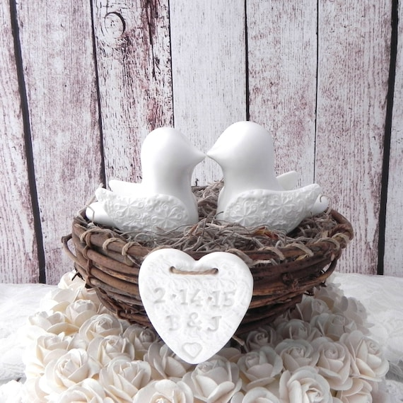 simple elegant wedding cake toppers items similar to rustic wedding cake topper white 19980