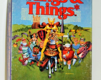 1986 Kings & Things Game, A Fantasy Board Game with Everything