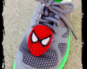Spider-Man shoe clips