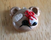 Unfortunate Teddy Bear Necklace - Ready to Ship