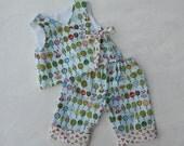 Baby Infant Coming Home Kimono with Pant, Panda Nursery Print, sizes 0 through 24 month